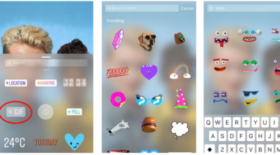 Gifs do Instagram - Projetual