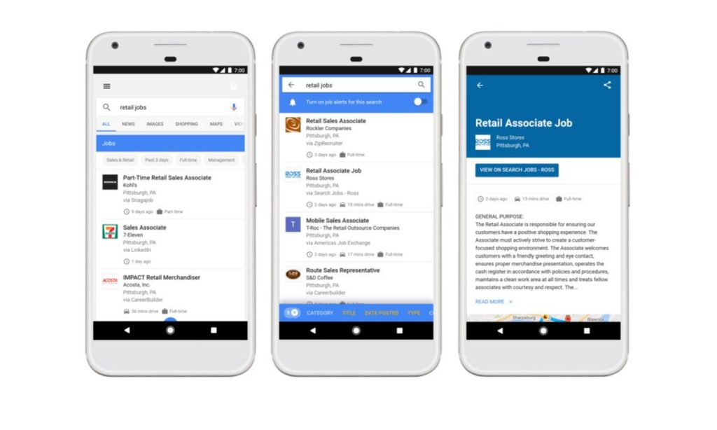 Vagas de emprego com Google - Projetual