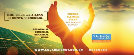 Conceito Comunicação Solar Energy