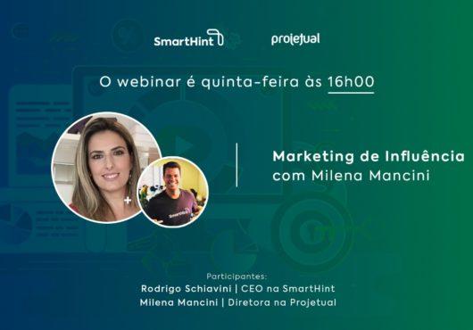Webinar Marketing de Influência Smarthint
