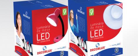 Embalagem Luminária de LED