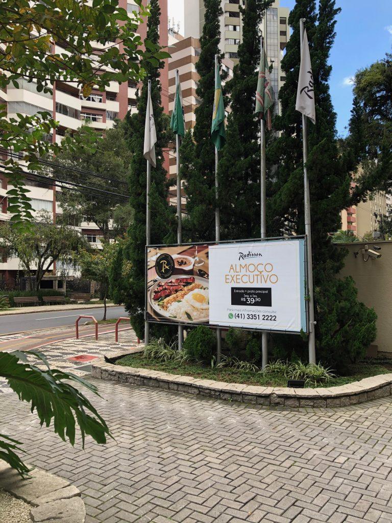 Lançamento Almoço Executivo Radisson Hotel Curitiba