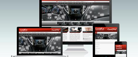 Site responsivo Caska