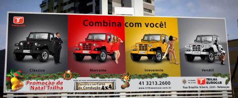 Outdoor Campanha Natal Trilha Eurocar