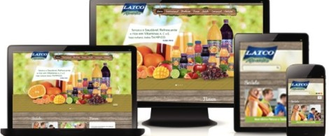 Site Latco Alimentos
